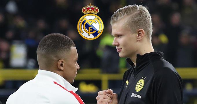 Mega Proyek Real Madrid 2021 Duet Mbappe dan Haaland