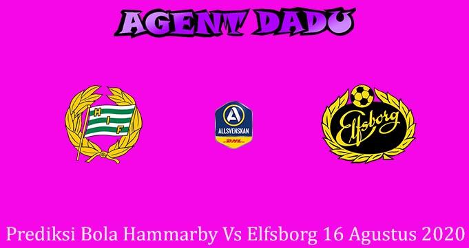 Prediksi Bola Hammarby Vs Elfsborg 16 Agustus 2020