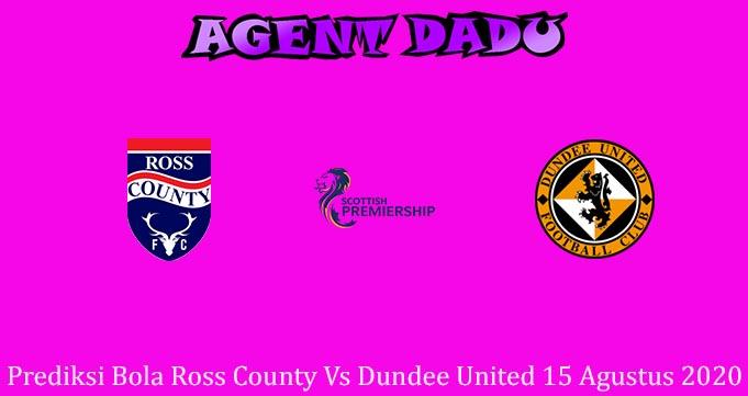 Prediksi Bola Ross County Vs Dundee United 15 Agustus 2020