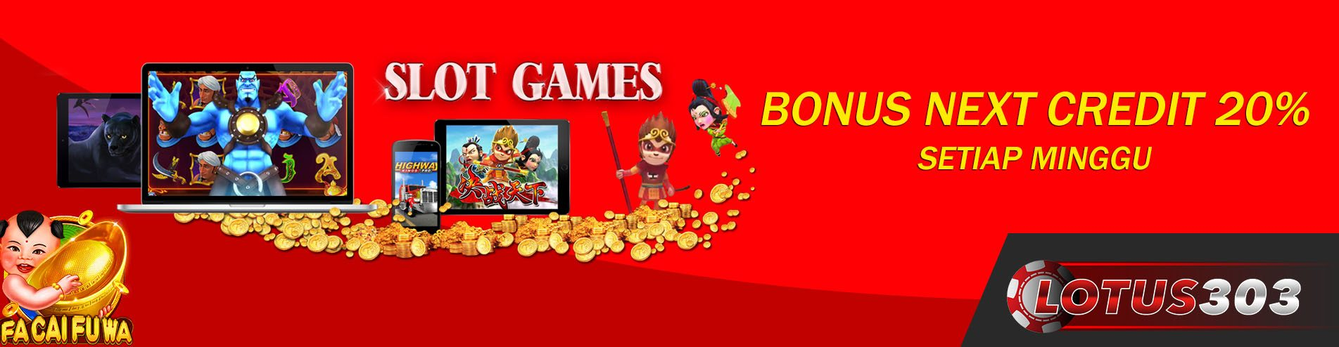 bonus lotus303