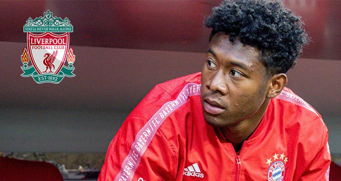 Liverpool Siap Bersaing Dapatkan David Alaba