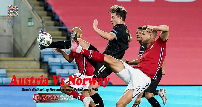 Prediksi Bola Austria Vs Norway 19 November 2020