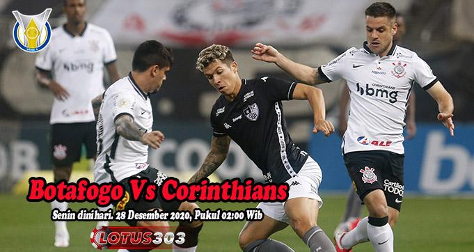 Prediksi Bola Botafogo Vs Corinthians 28 Desember 2020