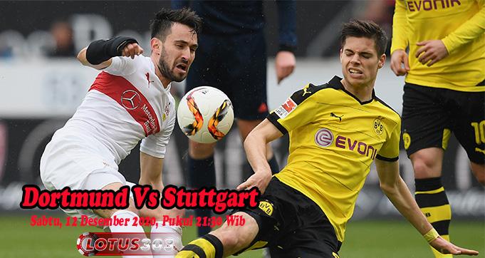 Prediksi Bola Dortmund Vs Stuttgart 12 Desember 2020