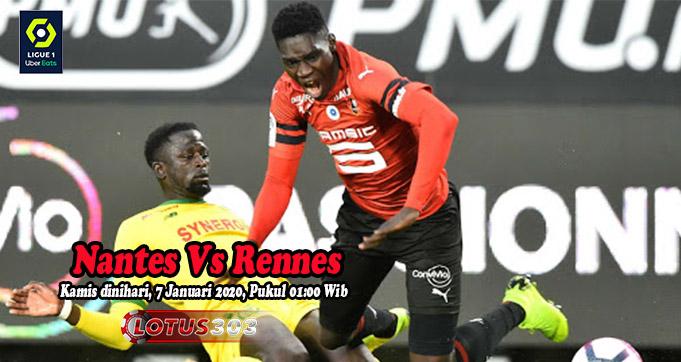 Prediksi Bola Nantes Vs Rennes 7 Januari 2021