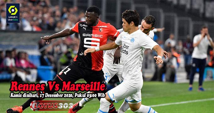 Prediksi Bola Rennes Vs Marseille 17 Desember 2020
