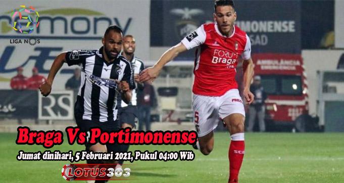 Prediksi Bola Braga Vs Portimonense 5 Februari 2021