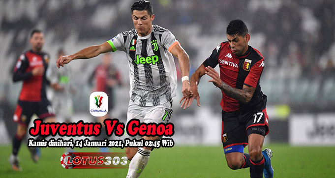 Prediksi Bola Juventus Vs Genoa 14 Januari 2021