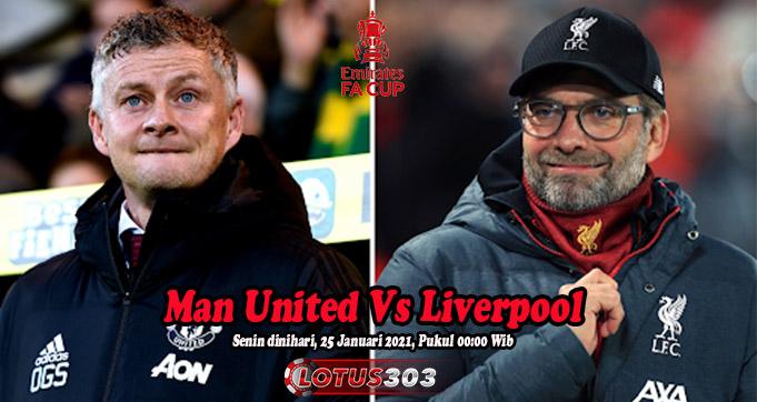 Prediksi Bola Man United Vs Liverpool 25 Januari 2021