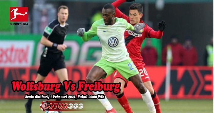 Prediksi Bola Wolfsburg Vs Freiburg 1 Februari 2021