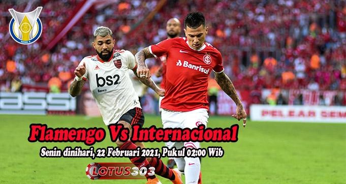 Prediksi Bola Flamengo Vs Internacional 22 Februari 2021