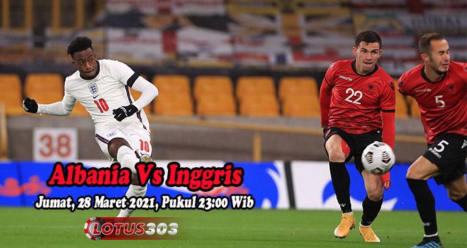 Prediksi Bola Albania Vs Inggris 28 Maret 2021