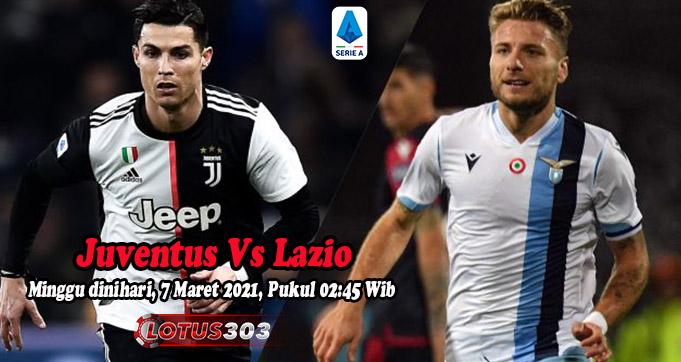 Prediksi Bola Juventus Vs Lazio 7 Maret 2021