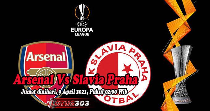 Prediksi Bola Arsenal Vs Slavia Praha 9 April 2021