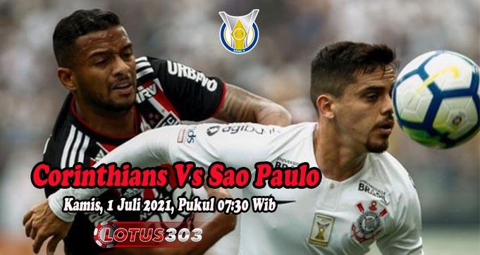 Prediksi Bola Corinthians Vs Sao Paulo 1 Juli 2021