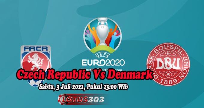 Prediksi Bola Czech Republic Vs Denmark 3 Juli 2021