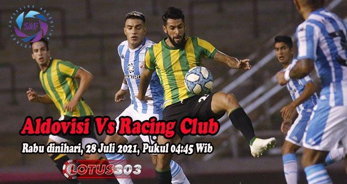 Prediksi Bola Aldovisi Vs Racing Club 28 Juli 2021