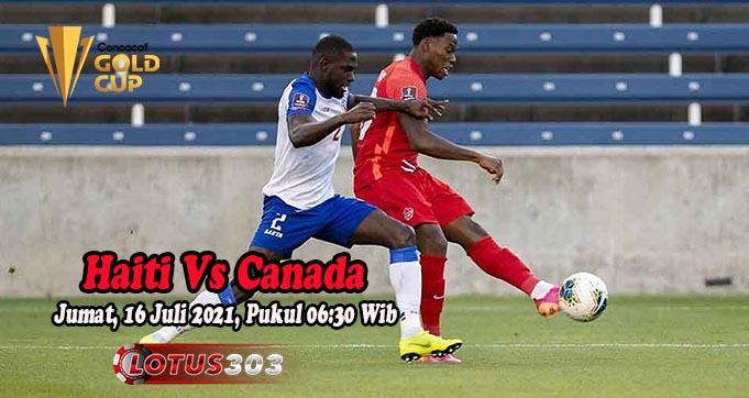 Prediksi Bola Haiti Vs Canada 16 Juli 2021