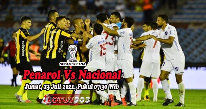 Prediksi Bola Penarol Vs Nacional 23 Juli 2021