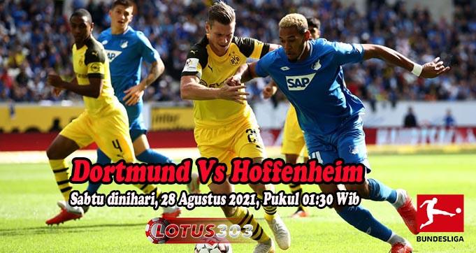 Prediksi Bola Dortmund Vs Hoffenheim 28 Agustus 2021