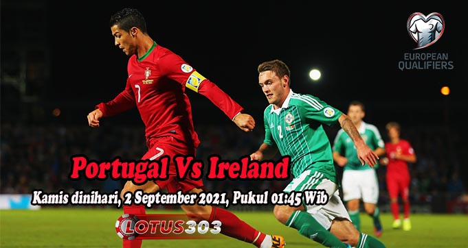 Prediksi Bola Portugal Vs Ireland 2 September 2021