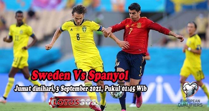 Prediksi Bola Sweden Vs Spanyol 3 September 2021