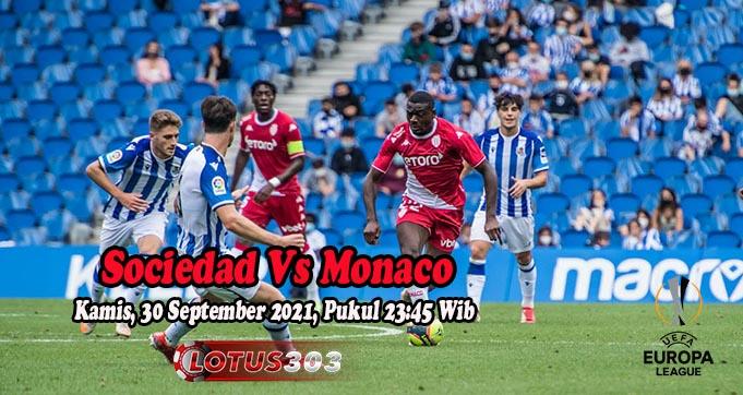 Prediksi Bola Sociedad Vs Monaco 30 September 2021