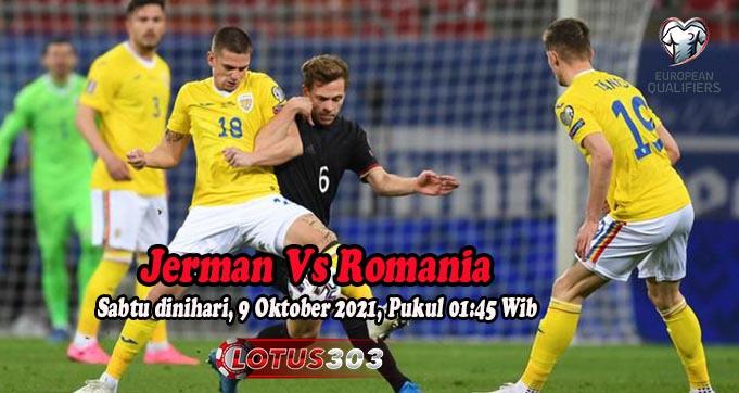 Prediksi Bola Jerman Vs Romania 9 Oktober 2021
