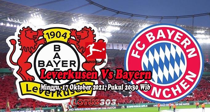 Prediksi Bola Leverkusen Vs Bayern 17 Oktober 2021