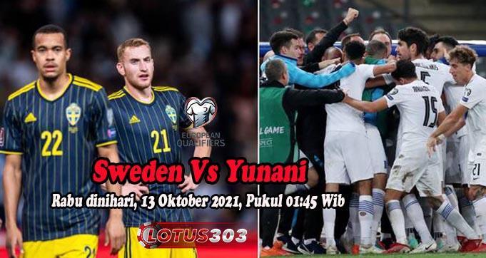 Prediksi Bola Sweden Vs Yunani 13 Oktober 2021